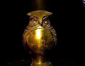 3D printable model Brass Owl