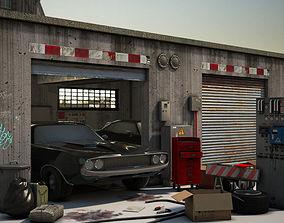 3D model airduct Garage