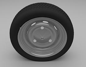 3D Dacia Wheel