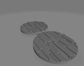 60mm Bases Trench 3D printable model
