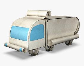 3D Truck Box Paper v 1