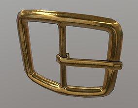 Buckle 3D asset