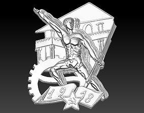 Badge Man 3D printable model