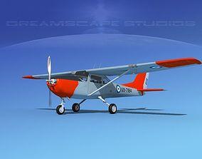 3D model Cessna T-41 Mescalero Greece