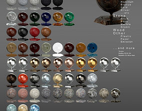 REDSHIFT MATERIAL PACK FOR 3DSMAX VOL1