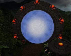 3D PBR Stargate