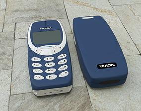 Nokia 3310 - Mjolnir 3310 - Nokia Hammer 3D model
