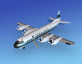 Lockheed L-188 Electra HP Everly Tours 3D