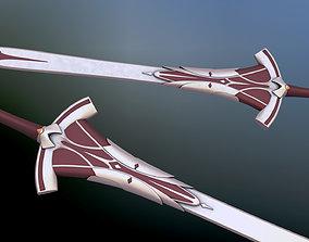 3D model Fate Apocrypha Mordreds Clarent Sword
