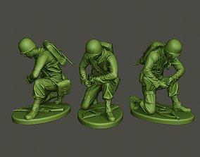 American soldier ww2 grenade A2 3D printable model