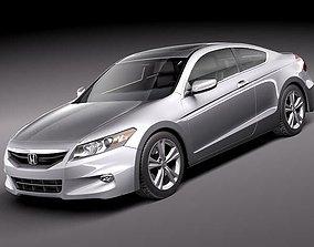 3D model Honda Accord Coupe 2011