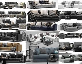 10 models sofas Poliform Minotti Boconcept