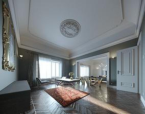 Apartement c4D Scene 3D