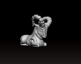 Ancient persian Goat 3D print model