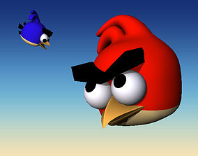 3D model Angry birds