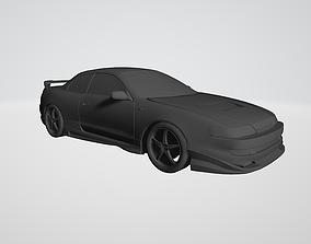 Toyota Curren 3D model 1994-1998 ST206 ST207 ST208 Varis