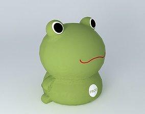 3D Green Frog tito