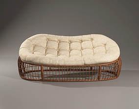 Ethnic sofa 3D model