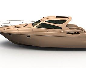 3D Jeanneau Prestige 34 Yacht