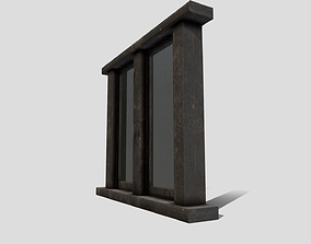 Generic Medieval Window 3D asset