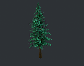Pine Tree 3D model VR / AR ready PBR
