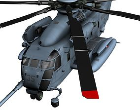 3D model Blackout Helicopter