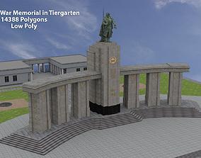 Soviet War Memorial in Tiergarten 3D model