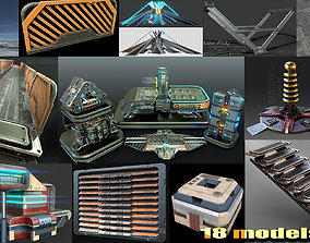 sci-fi collection 3D