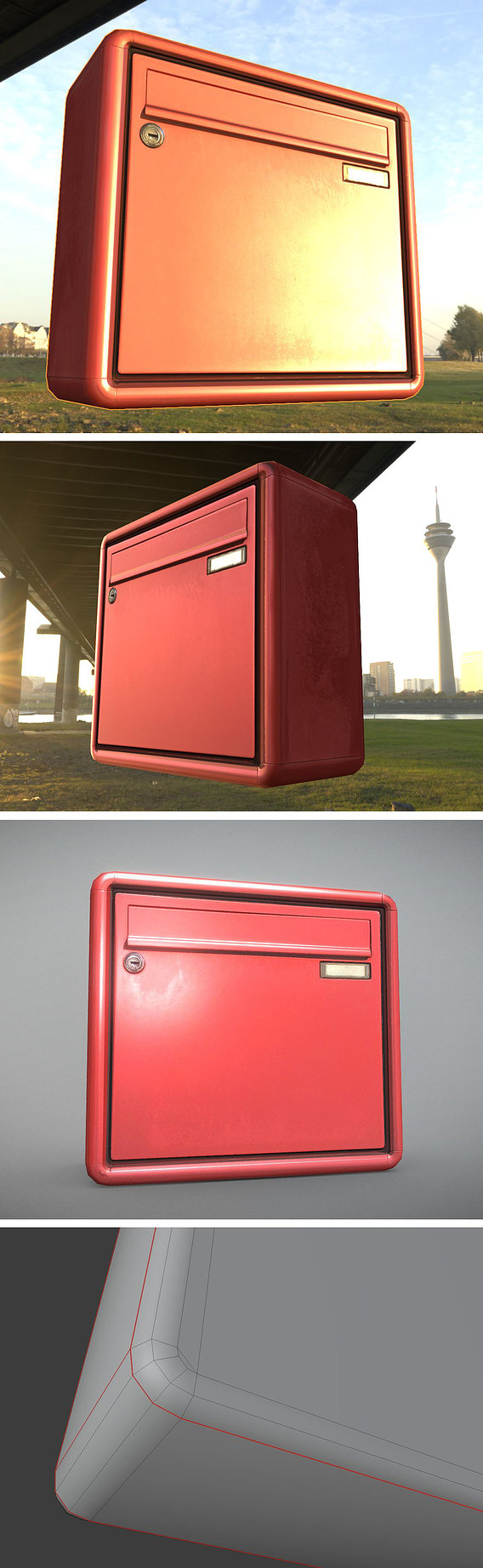 Low-Poly Mailbox 2.0