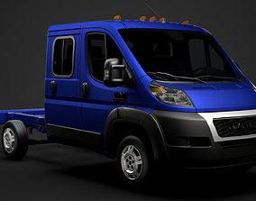 Ram Promaster Truck Crew Cab 3450 WB 2020 3D model
