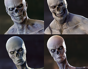 Zombies Collection 3D model