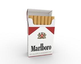 3D model Marlboro Cigarette Box
