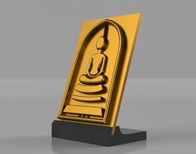 3D print model BUDDHA PLAQUE
