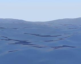 animated ocean 3D Ocean Animated