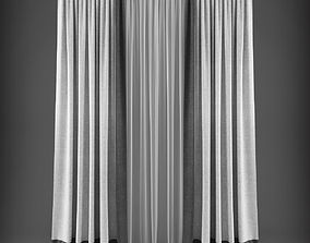 Curtain 3D model 314 game-ready