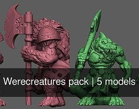 3D Werecreatures pack