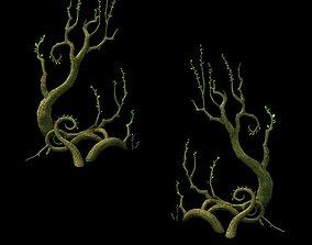 Game Model - Hanging Garden - Cloud Tree 01 ganoderma