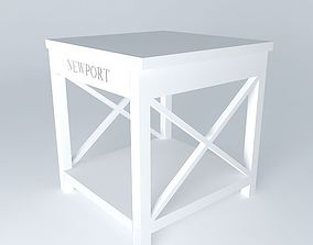 3D model Newport end table Houses of the world