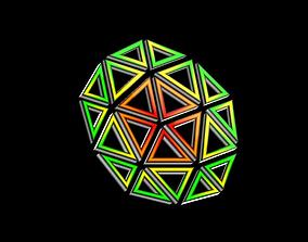 Decagon 3D asset