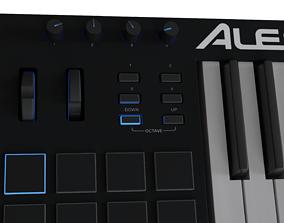 3D asset Alesis V61 MIDI keyboard High-poly and
