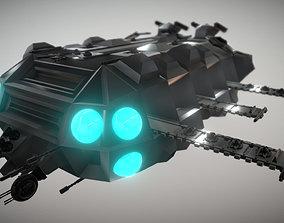 3D model Carrier Spaceship