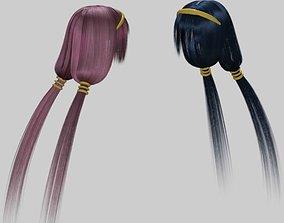 daz3d rigged Naotora Li hair Daz3d