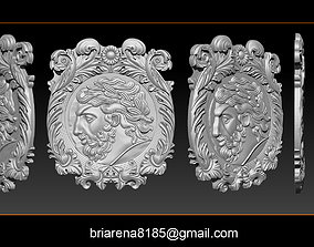 3D print model Roman coin frame