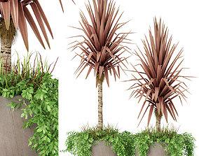 Plants collection 390 3D