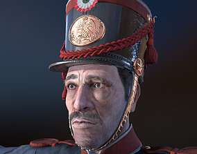 Mexican soldier 3D model