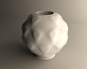 Sphere flowerpot SMALL 3D print model