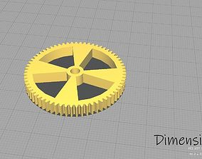 3D printable model 65 Tooth 4cm Spur Gear