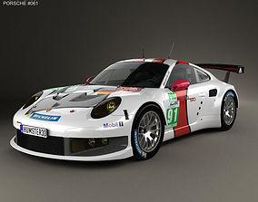 Porsche 911 Carrera 991 RSR 2013 3D model