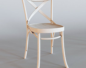 3D model Stool Provence wood chair