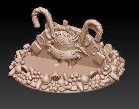 Candy Crush Top 3D print model